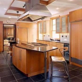 厨房红酒吊架吧台装修效果图