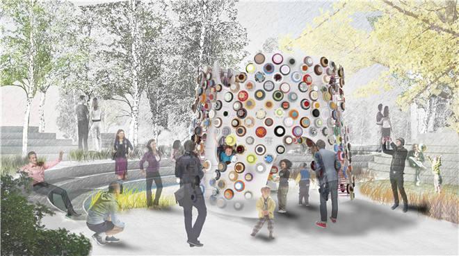 环保装置艺术作品_容易做的装置艺术作品-环保主题装置艺术 废物利用的装置艺术 ...