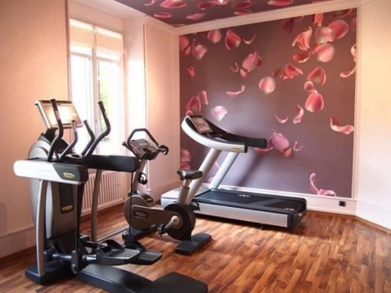 型男最爱的家庭健身房设计