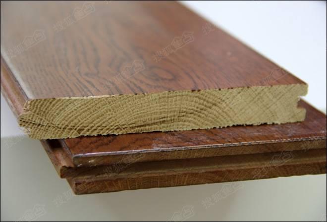 久盛栎木纯实木地板材质