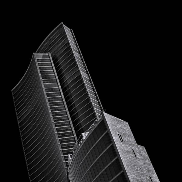 每栋建筑便看起来有独立的结构