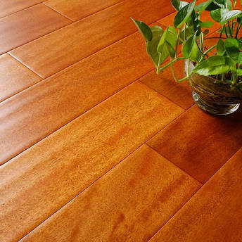 【安信地板实木地板】安信地板二翅豆(龙凤檀)人字拼