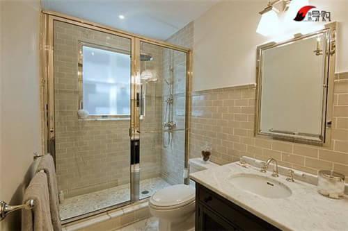 别人家的洗手间! 26款小户型卫浴装修图