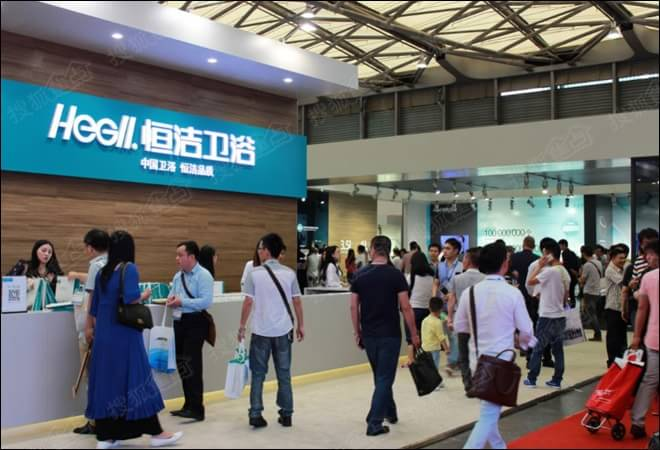 2015年上海厨卫展 恒洁第四代智能坐便器速评