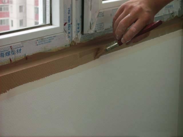 壁纸与壁布的对比及铺装-网友面对面 让设计突破局限 给旧房赋予灵动