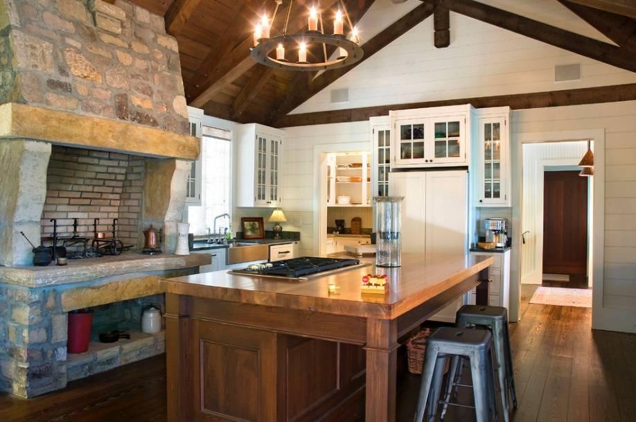 8款乡村风格厨房案例 田园风厨房装修效果图大全