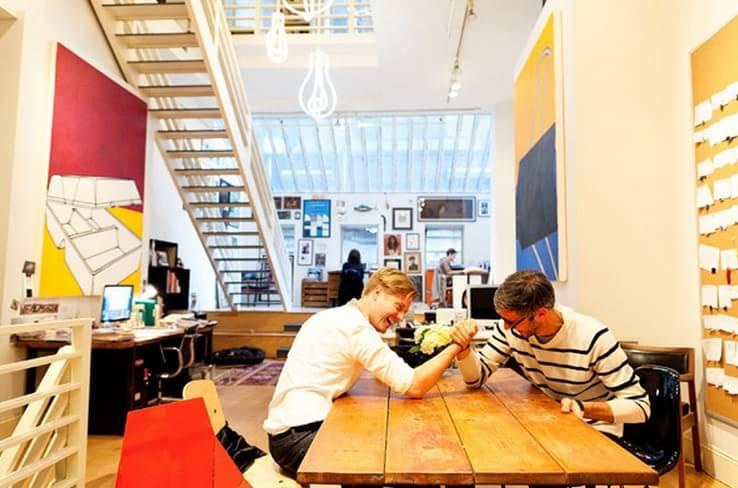 纽约设计师的家庭工作室欣赏