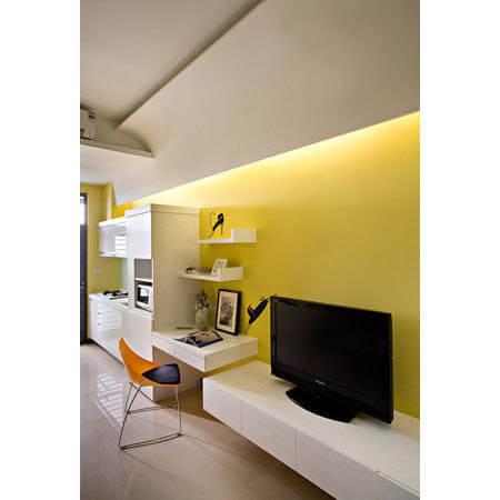 合理设计36平复式 完美单身公寓