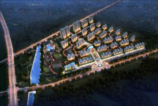 小区是由31栋住宅以及1栋幼儿园组成,其中多层21栋,小高层8栋,高层2栋