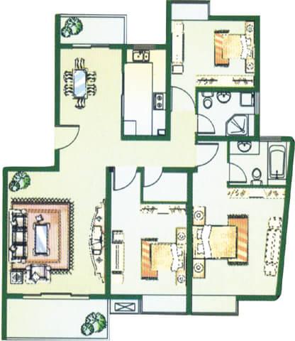 米宽长方形房子设计图展示