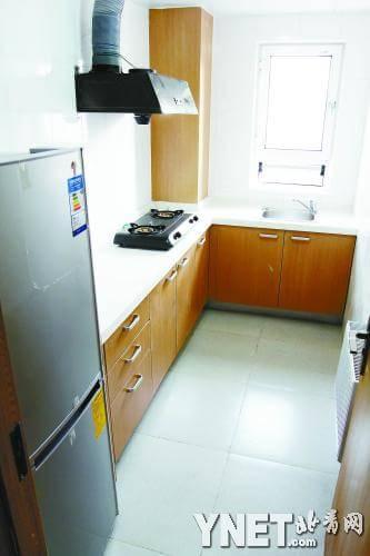 北京公租房可拎包入住 家具每月租金140元(图)