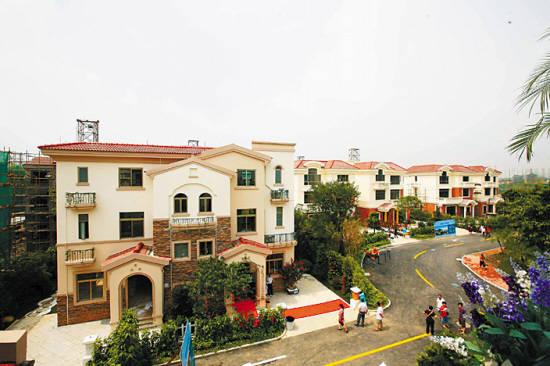 别墅产品为西班牙建筑风格
