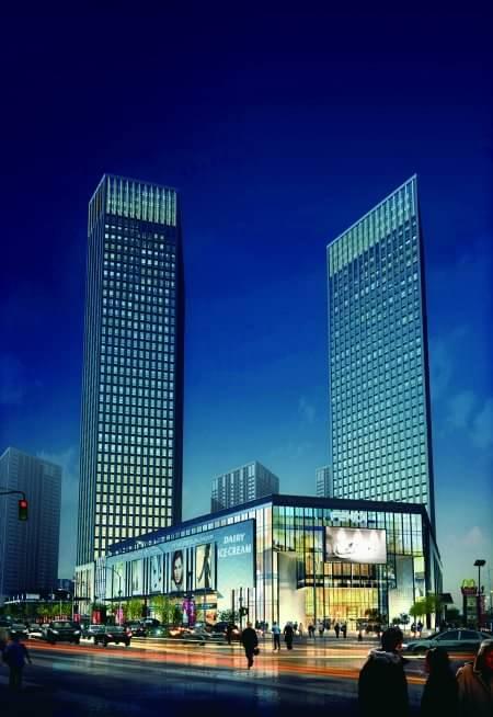变身城市商业中心 重庆向北新牌坊崛起一座城