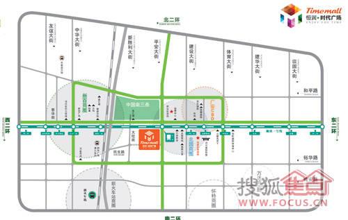 石家庄棉七厂区规划图揭秘