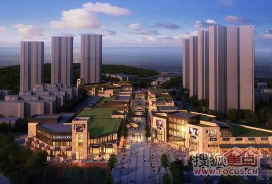 立足红星海不可比拟的山海资源,滨海湾商街将以国际化的视野和高端