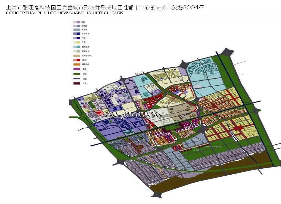 例如拿上海的人民广场与世纪广场作比对