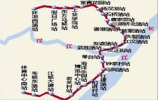 由武昌火车站至武汉