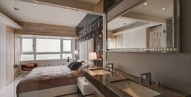 北欧卧室无窗装修效果图
