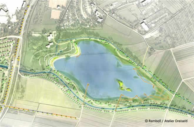 景观设计:索姆河道生态综合性修复