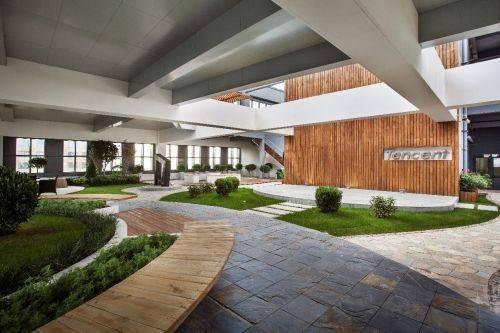 案例:腾讯公司室内设计实景图大放送