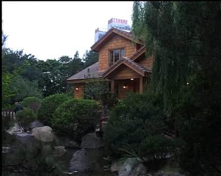 然而,这栋去年刚盖起来的美式别墅现在正好建在了整个庭院的中央,依图片