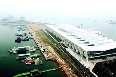 青岛邮轮母港开港 青岛港老港区转型升级