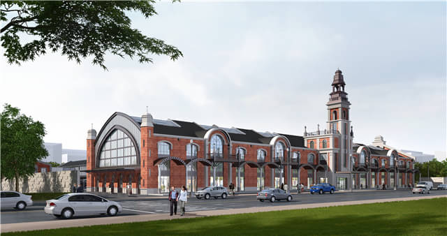 1876老站创意园建筑设计与风水解析