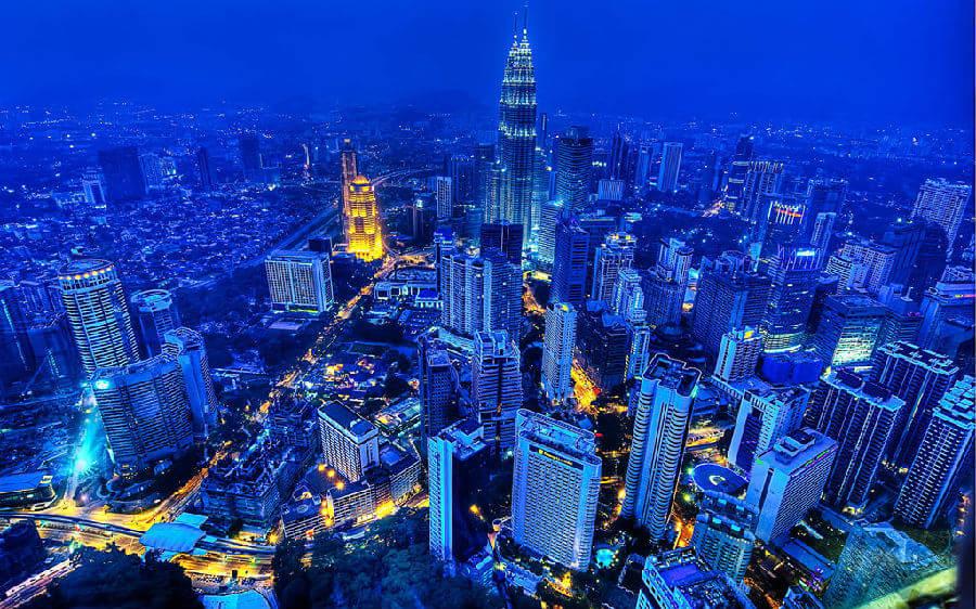 包括著名的吉隆坡双塔