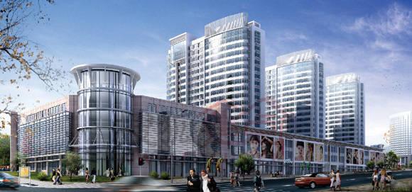 小区共分为两大园区,园区内全部设计18-20层高层住宅,其中南区为7栋高层,北区为13栋高层,两个园区分别设主次两个小区入口,整个园区东侧和北侧为商业网点,满足小区及周边商业购物所需;园区西侧及南侧为车行路线,进入小区车辆沿此直接进入地下停车场,杜绝小区内行车的不安全因素,营造和谐、安静的社区生活氛围;园区的绿化率高达40.