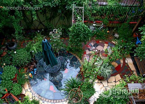 60平花园精巧设计 营造家居绿影婆娑