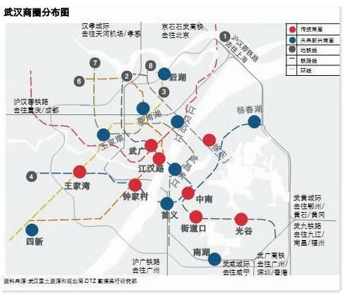 武汉分区地图全图