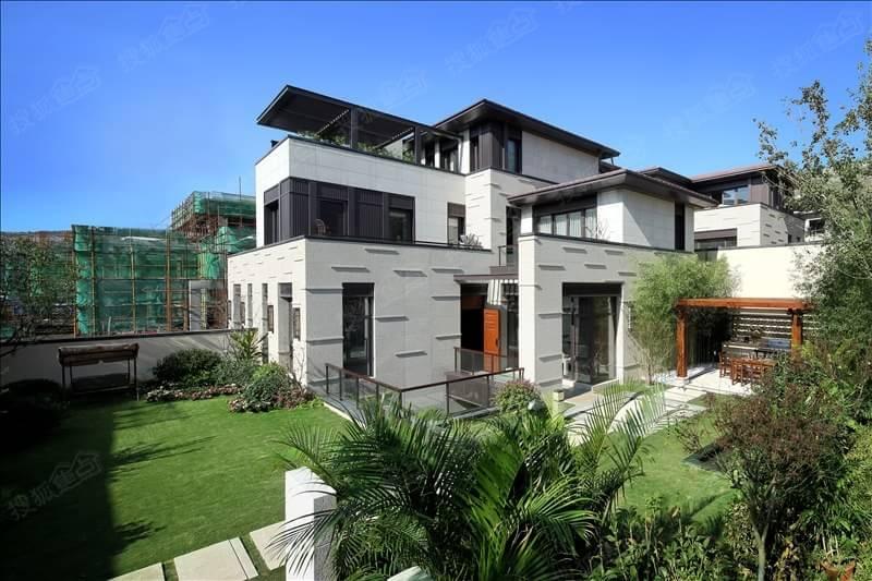 华润仰山120-800㎡l型新派独院别墅在售,配以负一层下沉式庭院, 价格图片