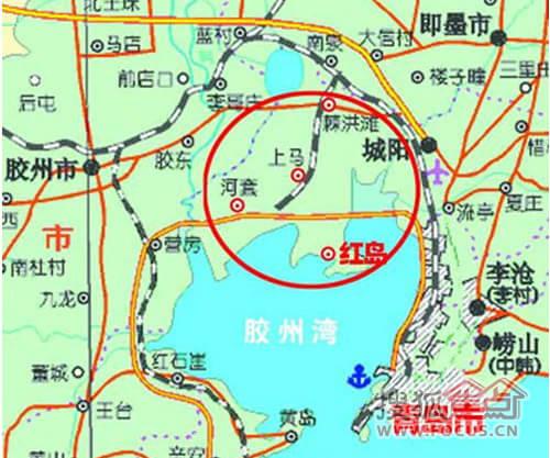 红岛规划图2018