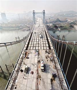 桥梁湿接缝图片_纵览新闻