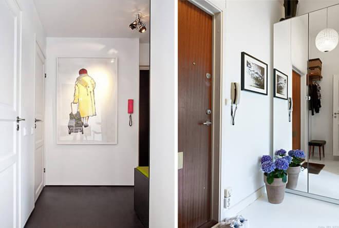 玄关装修效果图   【进门一幅画】每天一进门,你想看到怎样的场景?