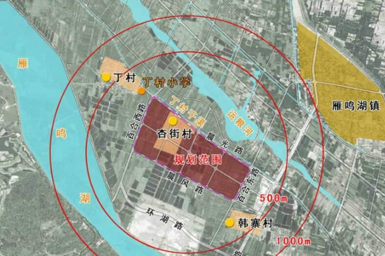 商都县县城地图