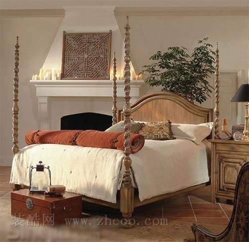 奢华欧式卧室装修效果图(组图)