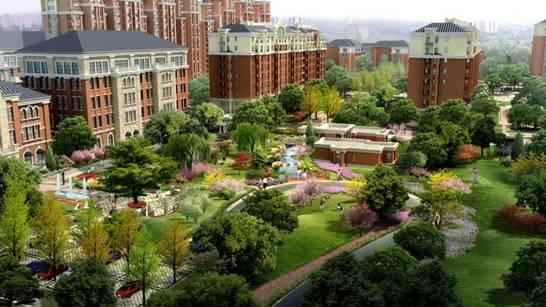 由北京建工地产精心打造的京西南高品质大盘建邦华庭 (论坛),以法式新古典为设计理念,整体风格典雅精致,特别是园林的打造,步移景异、花藤浓荫、欧式风情浓郁,设计师力求营造出沉稳中不乏浪漫,质朴中不乏细腻的生活氛围。据悉,该项目实景园区将于11月初华美开放,为感谢新老客户的支持与关注,凡到访者均可获赠精美礼品。   近日,建邦华庭园林设计师向记者透露,为了使建筑与景观能够完美融合,设计师特别从尊重居住者生活感受与自然规律变化的角度出发,采用了立体构景的方式进行整体规划。精心打造的四大主题景观和贯穿南北