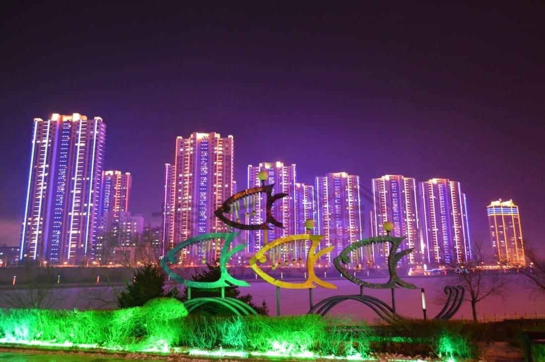 齐齐哈尔市劳动湖风景区 ( 图/搜狐小编 马斌 )