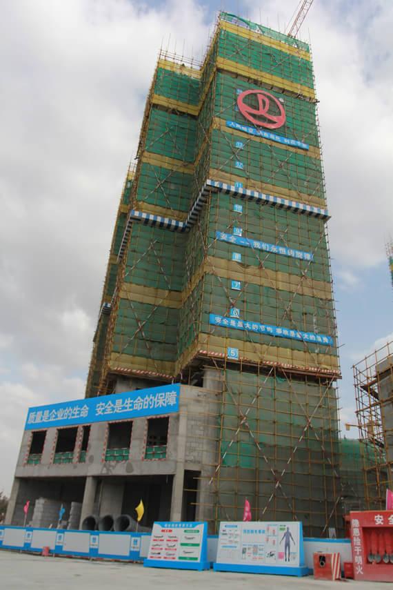 乌鲁木齐万达广场9月项目施工进度图片