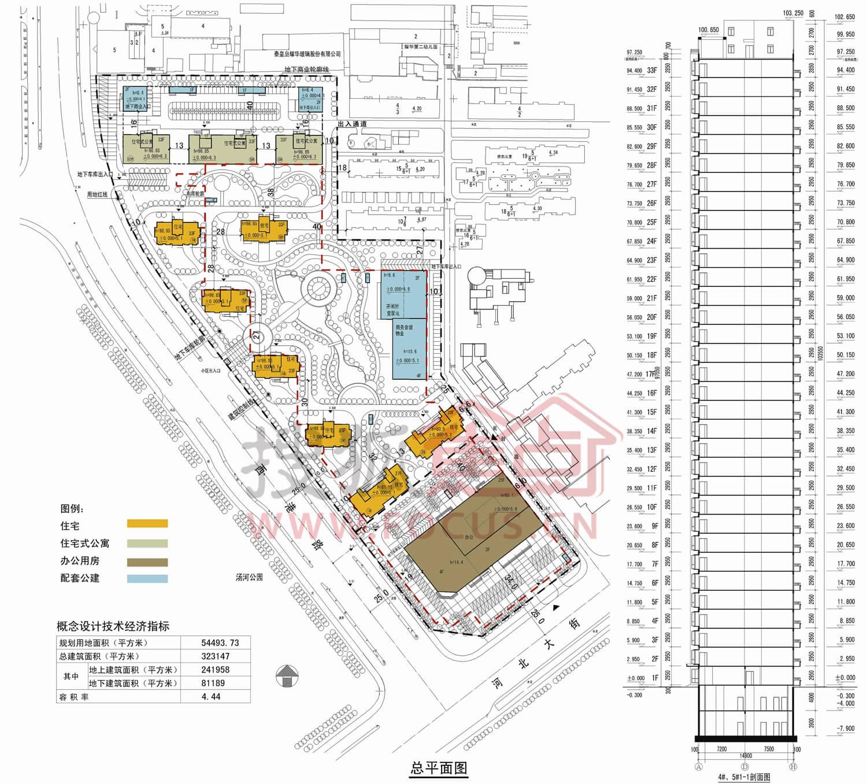 东岸项目位于秦皇岛市海港区,从地图上看是三条主要交通路线(河北大街