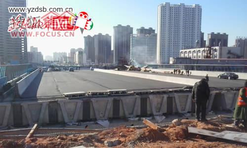 秦皇岛民族路铁路桥将于12月25日临时通车
